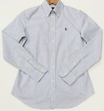 Ralph Lauren Oxford Shirt Women's Striped Size S