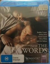 *New & Sealed*  The Words (Bluray Movie) Bradley Cooper / Zoe Saldana - Reg B AU