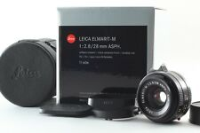 【Top Mint in Box】 Leica Elmarit M 28mm F2.8 ASPH E39 6 Bit from Japan #2020