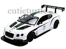 Bburago 18-24008 Bentley Continental GT3 #7 Race Car 1:24 Diecast Model White
