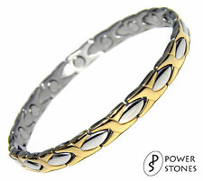 LADIES KIDS SUPER STRONG MAGNETIC BIO THERAPY BRACELET ARTHRITIS PAIN RELIEF 032