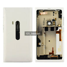 New White Full Housing Cover Case For NOKIA N9 N9-00 SIM Tray and USB Door