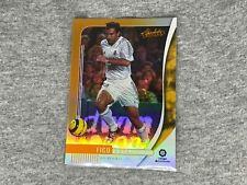 Luis Figo - Panini Chronicles Soccer Absolute Orange Holo Card #AB-5