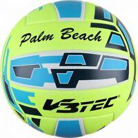 V3Tec Palm Beach Beachvolleyball Trainingsball Herren Größe 5 gelb blau