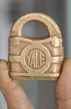 Old Small Yale Lock MFC.Co. Small Size Pad Lock,USA