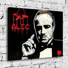 """30x24"""" Alec Monopoly """"The Godfather"""" New HD print on canvas rolled up print"""