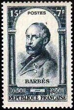 "FRANCE TIMBRE STAMP YVERT N° 801 "" REVOLUTION 1848 , A. BARBES "" NEUF XX TTB"