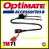OptiMate TM Waterproof Battery Charger Connector Lead Accumate 3 4 Dual Program