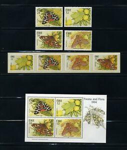 IRELAND   MNH   931-34a, 38a     Moths   IR776