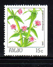 PALAU  #131  1987-88  FLOWERS  MINT  VF NH  O.G  BOOKLET SINGLE  c
