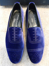 $795 NIB ALBERTO MORETTI Arfango ITALY Purple Loafers EU 43.5 UK 9.5 US 10.5