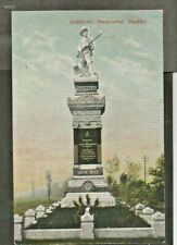 RMO 1903 Postcard, South African War Memorial, Dudley,