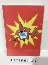 BLOCCO NOTE POKEMON SOLE LUNA NOTEBOOK UFFICIALE NINTENDO QUADERNO - NEW - RARE