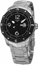 Tissot Men's T Navigator Stainless Steel DateDay Automatic Watch T0624301105700