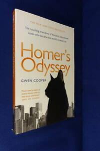HOMER'S ODYSSEY Gwen Cooper BLIND PUSSYCAT True Cat Story BOOK