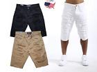 Smoke Rise Men's Heavy Rip & Repair Twill Short Pants Size32~54 Big&Tall JS6310