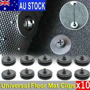 10x AU  Car Floor Mat Liner Carpet Clips Fixing Grips Clamp Holder Sleeves Auto