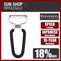 100/% Genuine SAVANNAH Japanese Blade Super Wide Peeler Red!