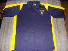 Under Armour Heat Gear Montana State University Bobcats Blue & Gold Golfing Polo