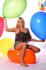 "10x 60cm+Ø (24""/190er) Riesen- Luftballon * 10x 24"" Riesen- Ballon BUNT *weich*"