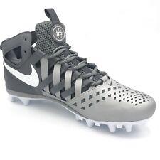 quality design ff080 86426 New Nike Hurache V5 LAX Lacrosse Cleats Shoes Grey White 807142-010 Sz.