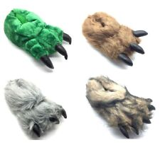 NEW Unisex Novelty Monster Claw Animal Slippers All Sizes