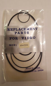 NV-7500 Video Gürtel Set Für Nat / Pan (5)