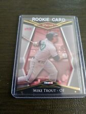 2011 Tristar Pursuit (GOLD) BORDER Mike Trout RC ROOKIE #1 For The Record RARE!