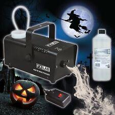 Halloween Party Haunted House Mini Fog Machine & 1L High Density Smoke Fluid