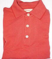 Tommy Bahama - Red Stripe Men's Short Sleeve Polo Shirt - sz Medium