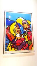 """Sérigraphie """"LOVE"""" de Julien RAYNAUD signée et numérotée (8/50)"""