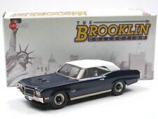 Brooklin Models BRK 218a 1970 Buick Gran Sport 455 Convertible Top Up blue 1/43