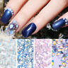 Opal Jelly Nail Rhinestones Flat Back 3D Decorations for Nail Art Tips Designs