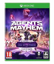Agents of Mayhem: Day One Edition (XBOX ONE) BRAND NEW SEALED