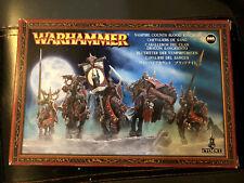 Warhammer Vampire Counts Blood Knights (5) BRAND NEW metal OOP