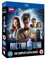 DOCTOR WHO - Complete Season 6 - Matt Smith, Karen Gillan NEW Bluray UK Region B