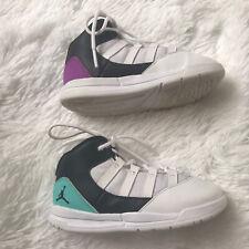 Nike Air Jordan Max Aura (TD) Basketball Shoes Black/White/Purple Toddler Sz 9C