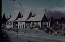 35mm Colour Slide-  Mount Cook Travel -Ski Hire Shop  New Zealand  1960's