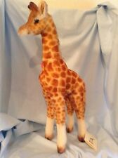 """Steiff Giraffe 19"""" Mohair Germany EAN068102  with tags Boys & Girls 3+ $267.99"""