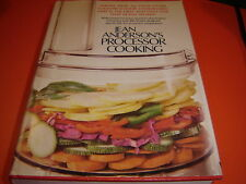 Jean Anderson's Processor Cooking by Jean Anderson (1979, HBDJ)