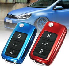 TPU Remote Smart Key Cover Fob Case Skin Shell For VW Volkswagen GTI Golf Jetta