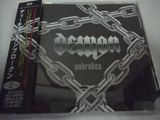 DEMON-Unbroken JAPAN 1st.Press w/OBI 3 Bonus Tracks NWOBHM Iron Maiden Venom