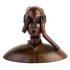 """PAUL WUNDERLICH - Original Bronzeskulptur """"LAURANAS ECHO"""" (1995, Wvz. Nr. 268)"""