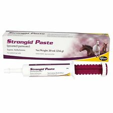 Strongid Oral Paste Pyrantel Pamoate Horse Pony Foal Dewormer 20 mL 1,200 pounds