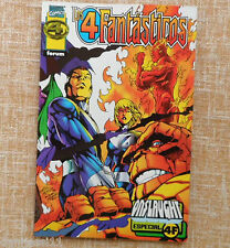 Comic, Los 4 Fantásticos, Especial Onslaught, Marvel, Forum, Tom DeFalco, 1997