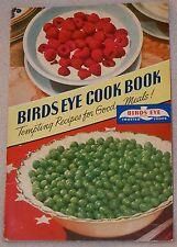 1941 Birds Eye Frozen Foods Fruit Crab Shrimp Fish Meat Recipe Cook Book Booklet