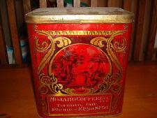 Vintage MacDonald Mfg. Co. Limited, Toronto, Ont. Hinged Lid Coffee Tin