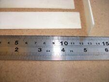 Flat Bone Blank 125  x 25 x 2  mm Box Restoration / / Escutcheon / Inlay