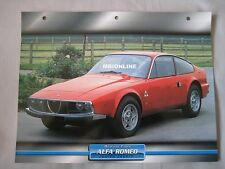 Alfa Romeo Junior Zagato Dream Cars Card