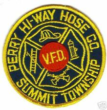 PERRY HI-WAY HOSE CO. SUMMIT TOWNSHIP FIRE PATCH